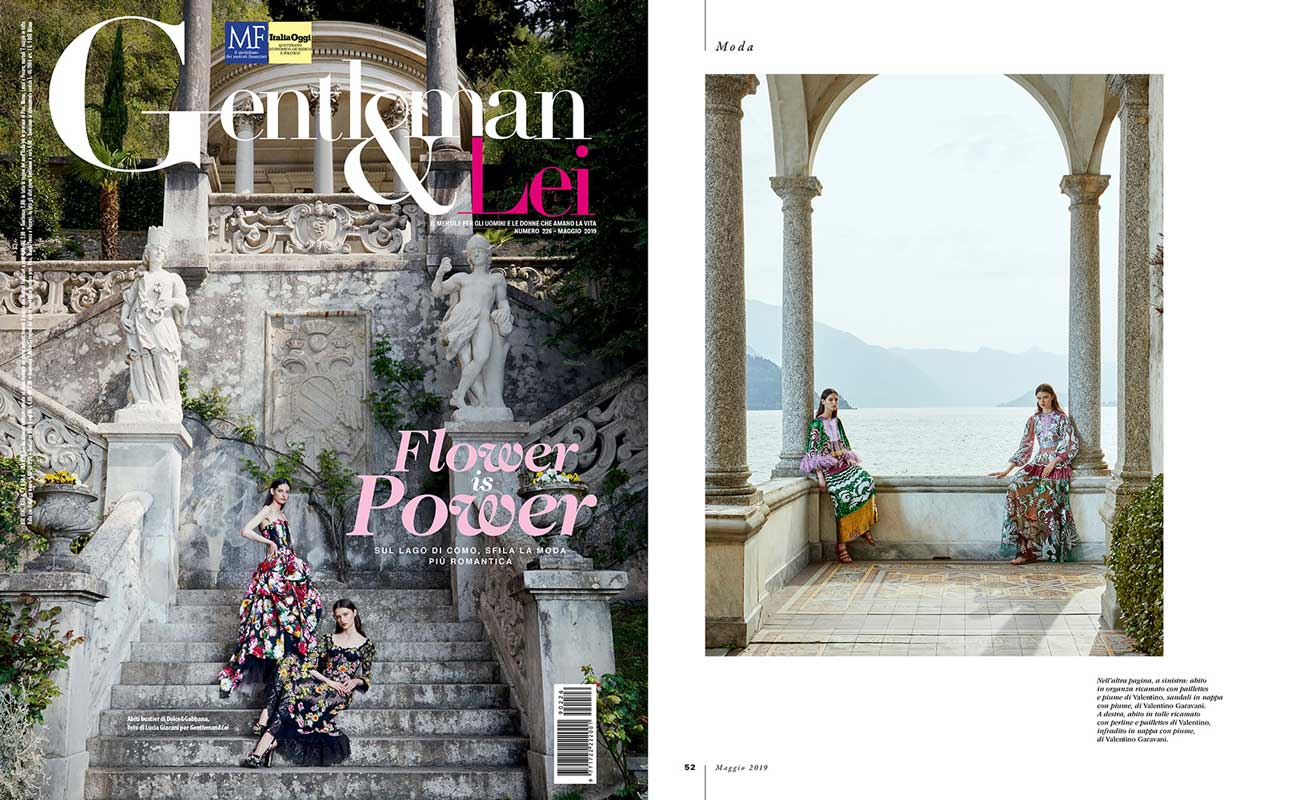 Editorial Lake Como for Gentlemen & Lei