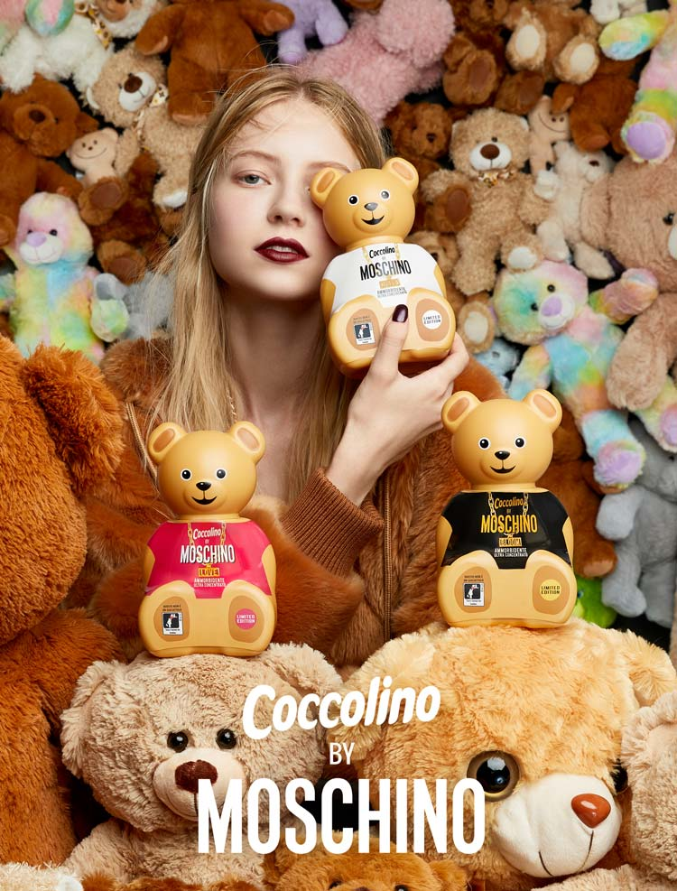 Moschino per Coccolino for Vogue Shareable