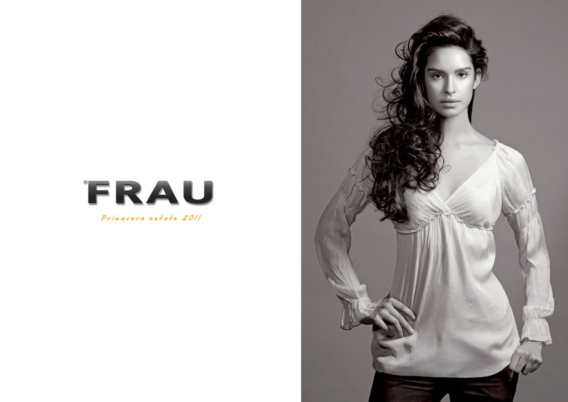 Frau celebrity fashion photography ad campaign