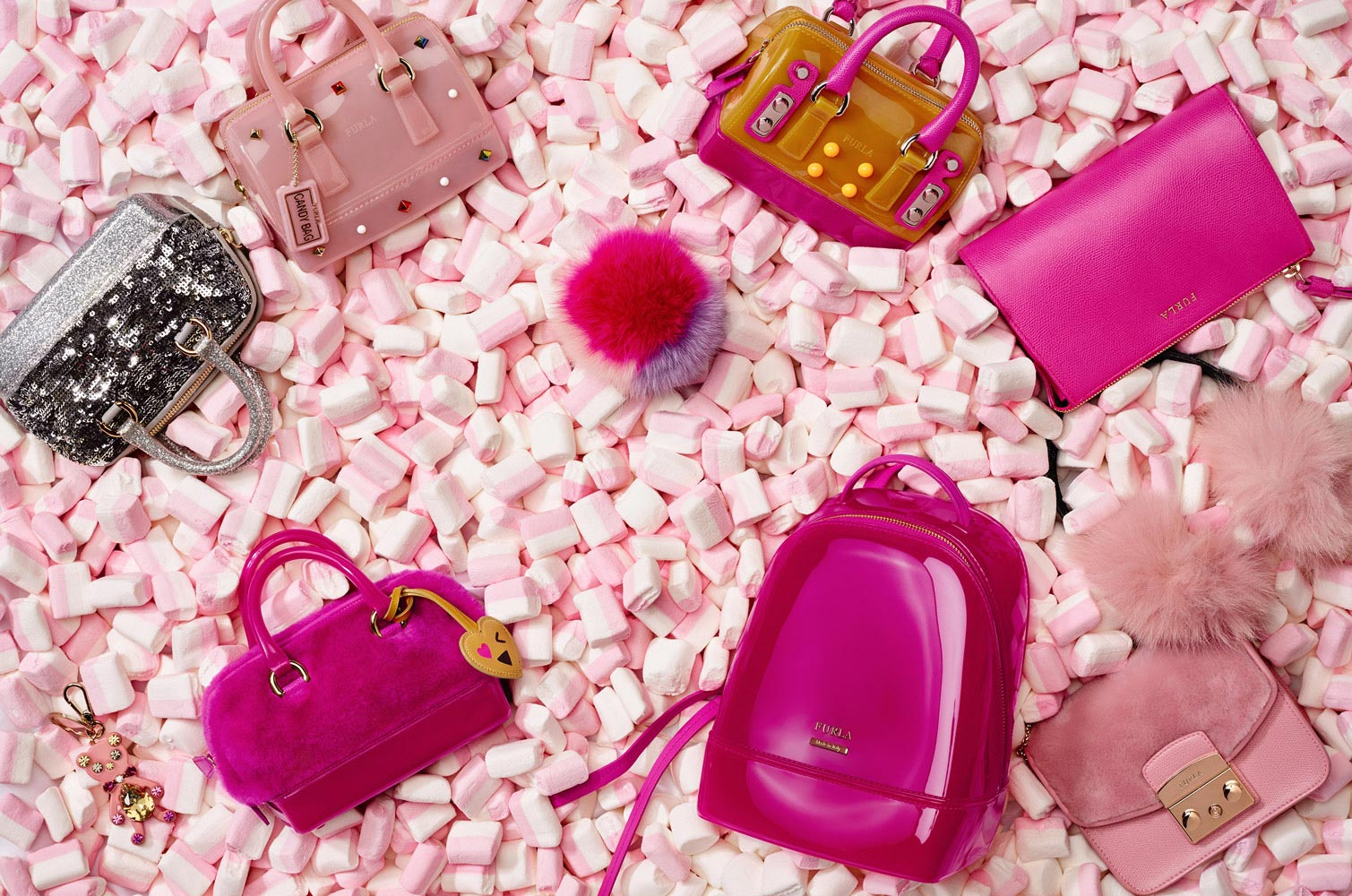 Furla catalogue still life photography ad campaign