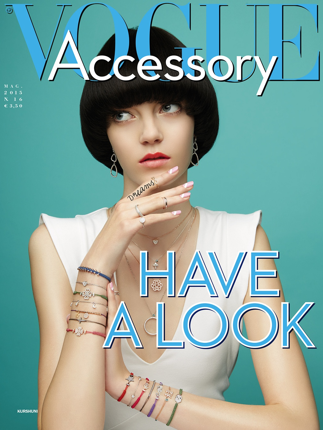 Vogue Accessory Cover Kurshuni editorial conde nast
