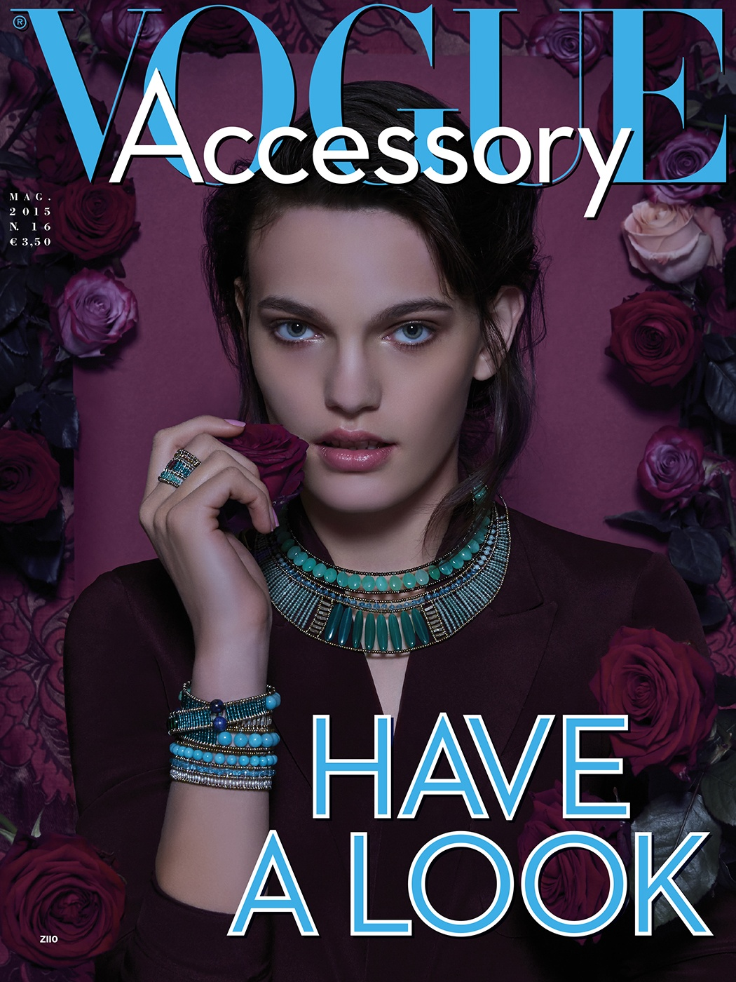 Vogue Accessory Cover Ziio editorial conde nast